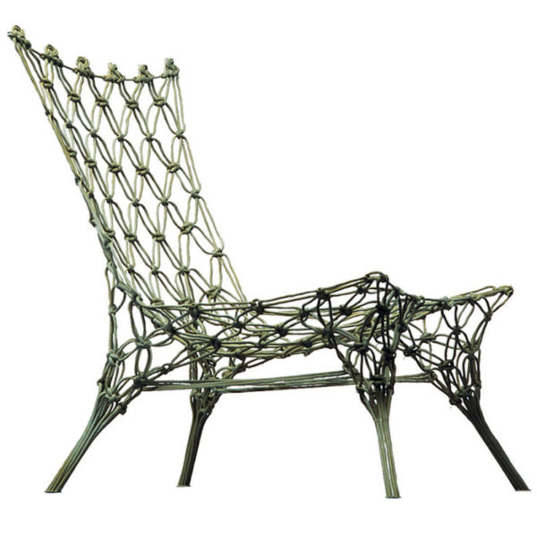Knotted Chair van Marcel Wanders door Cappellini