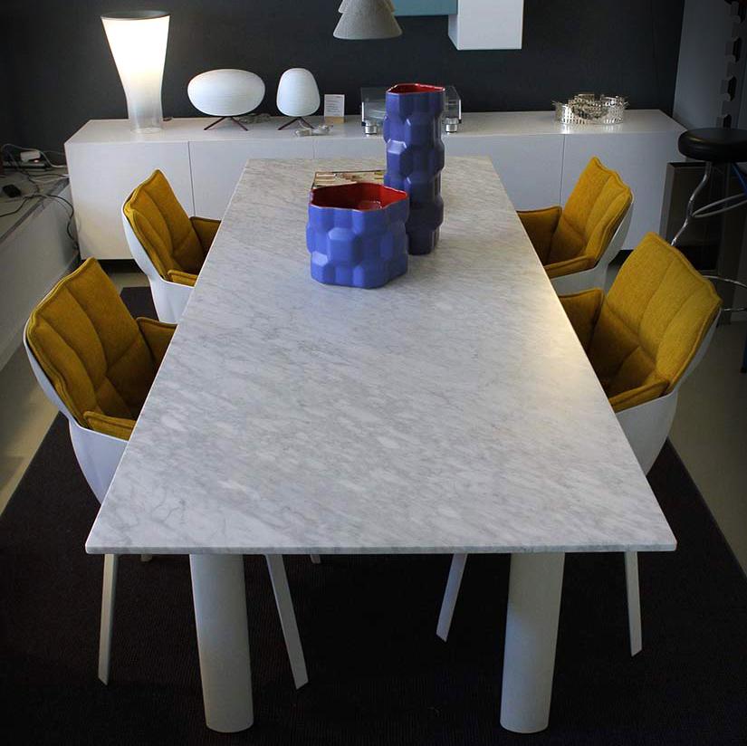 Cassina-LC6-eettafel-marmer-Masinterieur-aanbieding-opruiming
