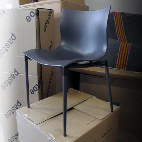 Driade set van 4 stoelen 'Cameleon'