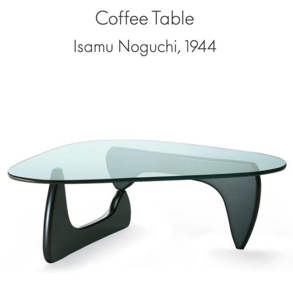 'Coffee Table' door Isamu Noguchi uit 1944