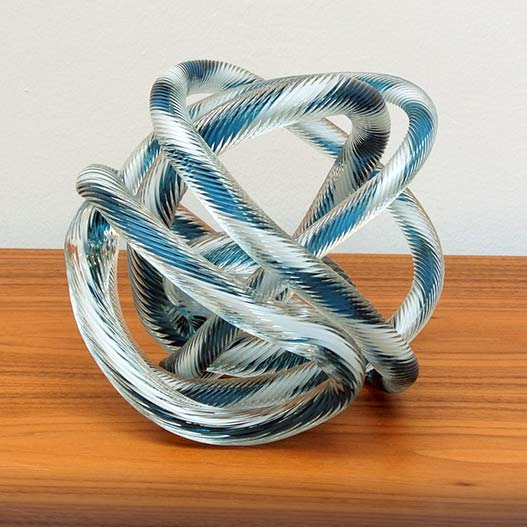 HAY-Knot 2 L / 20cm glas object