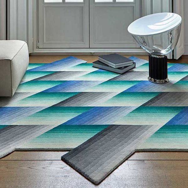 "GAN Rugs Karpet ""Mirage"" handgeknoopt in 100% New Zealand wool"